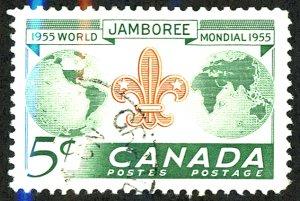 Canada #356 Used