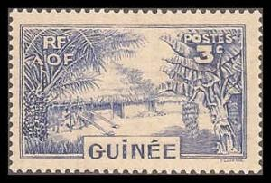 French Guinea 129 Mint VF HR