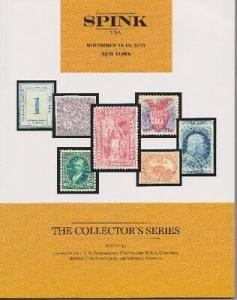 Spink November 2015 Collector's Series Stamp Auction Catalogue - NEW