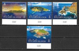 Pitcairn Islands 850-53 Islands set MNH (lib)