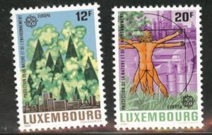 Luxembourg Scott 751-752 MNH** 1986 Europa set