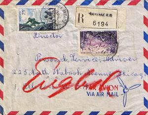 French Guiana France 20F Mount Pelee on Martinique and 75F Mountain Climbing ...