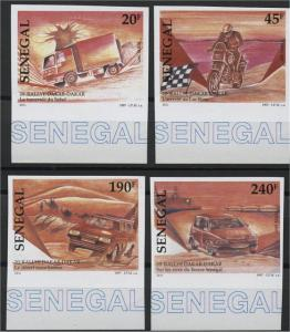 SENEGAL, DAKAR RALLY, 1998, IMPERF, MNH