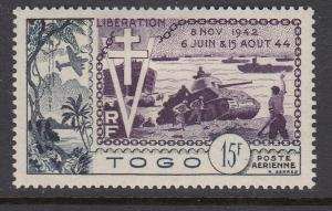 Togo C19 mint