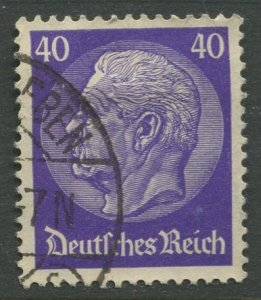 STAMP STATION PERTH Germany #396 General Issue Used 1932