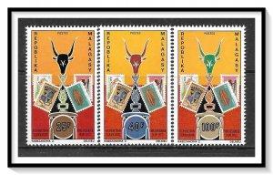 Madagascar #468-470 Philatelic Expo Set MNH