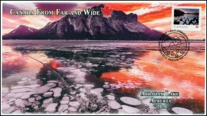 CA20-011, 2020, From Far and Wide, Pictorial Postmark, First Day Cover, Abraham