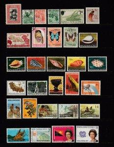 PAPUA NEW GUINEA - 107 Different - SCV $124.40