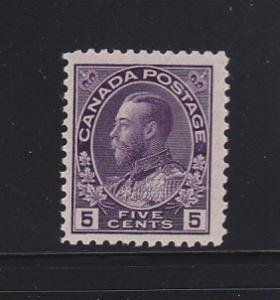 Canada 112a MNH King George V
