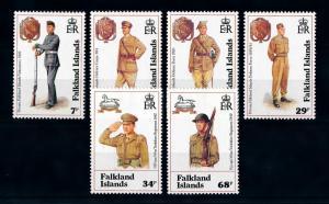 [71997] Falkland Islands 1992 Soldiers Uniform  MNH
