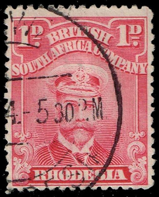 Rhodesia #120 King George V; Used (4.00)
