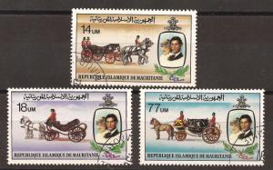 Mauritania  # 480 - 82   used   CTO