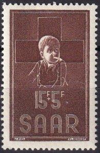 Saar #B100 MNH CV $3.25  (Z1993)
