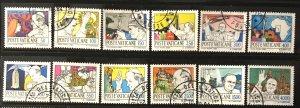 Vatican #737-748 U CV$12 Pope John Paul II Travels/Asia [158208]