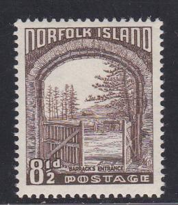 Norfolk Island # 16, Mint LH, 1/2 Cat