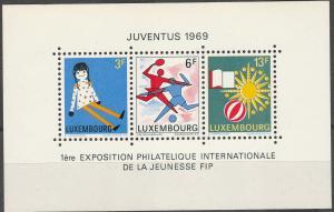 Luxembourg #474  MNH F-VF CV $3.00 (SU6889L)
