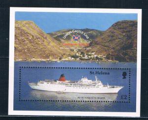 St Helena 749 MNH ss Union Castle Centenary voyage 1999 (S0951)+