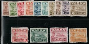 Nauru 1924-1948 SC 17-30 Mint SCV $291.00
