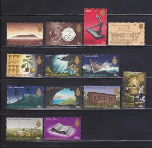 Pitcairn Islands 97-109 Set MH Various