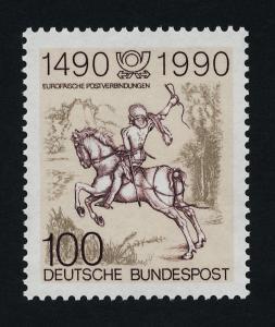 Germany 1592 MNH Horse, Post Rider