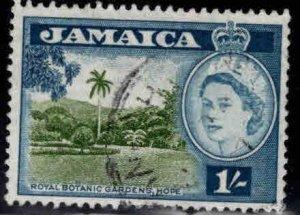 Jamaica Scott 168 Used  QE2 stamp