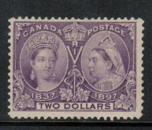 Canada #62 Mint Fine Lightly Hinged With Lightly Disturbed Original Gum