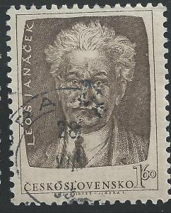 Czechoslovakia #599 1.60k Leos Janacek