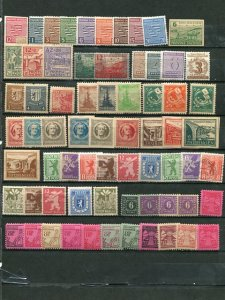 Germany Soviet Occupation lot    Mint and Used F-VF -  Lakeshore Philatelics