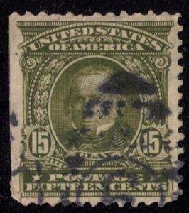 US Scott #309 Henry Clay Used VF