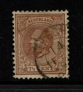Netherlands SC# 24, Used, Few Short Perfs - Lot 052117