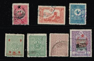 TURKEY STAMP OLD USED  STAMPS COLLECTION LOT #1