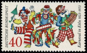GERMANY 1972 150th ANNIVERSARY of COLOGNE CARNIVAL SG 1643 MINT (NH) SUPERB