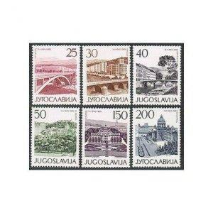 Yugoslavia 761-766,MNH.Michel 1106-1111.Liberation of Yugoslavia from Nazis,1965