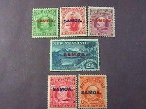 SAMOA # 114-119-MINT/HINGED*-COMPLETE SET-----1914