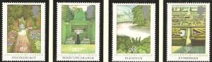 Great Britain 1983 Scott # 1027-1030 Gardens MNH
