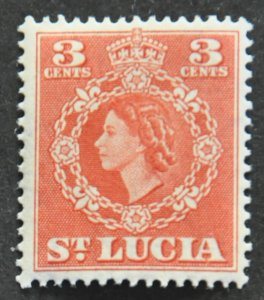DYNAMITE Stamps: St. Lucia Scott #159 – MINT