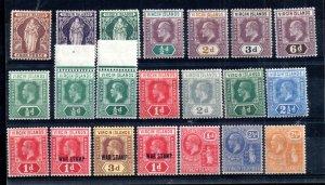 Virgin Islands QV-KGV mint MH/MNH collection WS16531