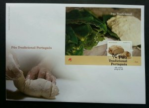 Portugal Traditional Pao 2009 Bread Food Cuisine Gastronomy (miniature FDC)