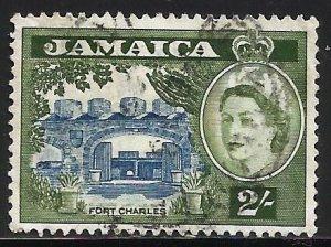 Jamaica 1956 Scott# 170 Used