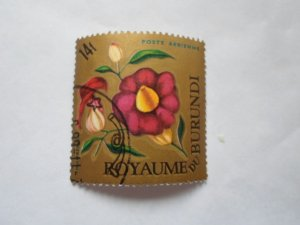 burundi stamp cto og mint hinged. # 16