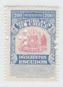 Chile fiscal stamp revenue 7-26-21