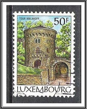 Luxembourg #755 Malakoff Tower Used