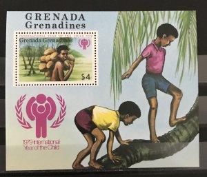 Grenada Grenadines1979 #322 S/S, MNH, CV $1