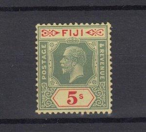 Fiji KGV 1912 5/- SG136 MLH JK4859