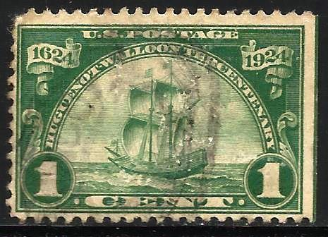United States 1924 Scott# 614 Used