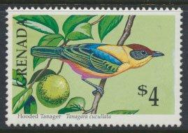 Grenada Birds SG 2162   Sc# 1883  Hooded Tanager  MNH