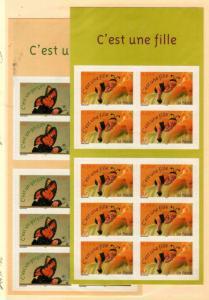 France Scott 2995a-96a Mint NH (Catalog Value $30.00)