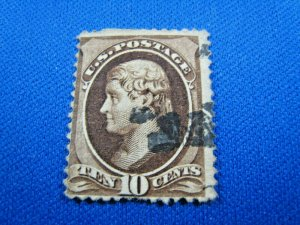 UNITED STATES, 1879 SCOTT #187 -  USED