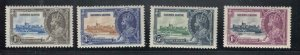SIERRE LEONE # 166-169 VF-MNH KGV SILIVER JUBILEES