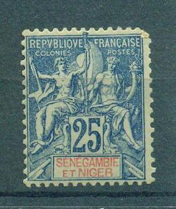 Senegambia & Niger sc# 8 mng cat value $21.00